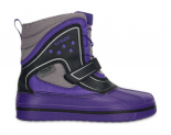 Crocs™ Kids' AllCast WaterProof Duck Boot Ultraviolet/Black