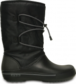 Crocs™ Crocband II.5 Cinch Boot Black/Charcoal