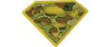 "Crocs aksesuaras ""Supermeno Logo"""