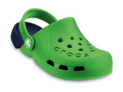 Crocs™ Kids' Electro Kelly green/Navy