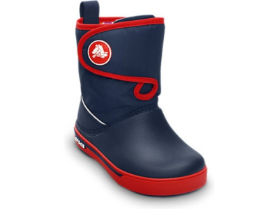 Crocs™ Kids' Crocband II.5 Gust Boot Navy/Red