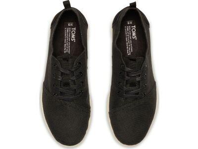 TOMS Burlap Men's Viaje Sneaker Black