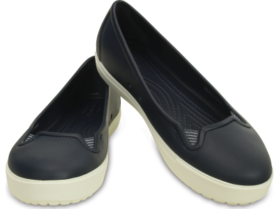 Crocs™ Citilane Flat Navy/White
