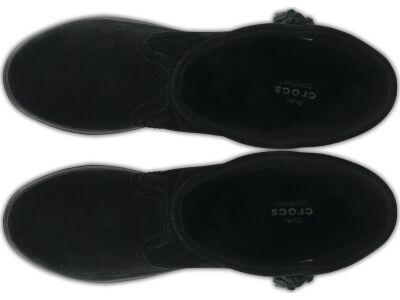 Crocs™ Lodgepoint Suede Pullon Boot Black