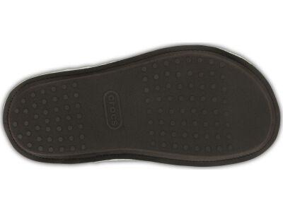Crocs™ Classic Plaid Slipper Black/Oatmeal