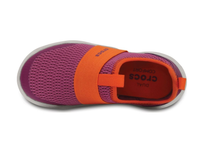 Crocs™ Swiftwater Easy-On Shoe Party Pink/Tangerine