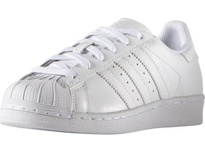 ADIDAS Junior's Superstar Foundation White/White