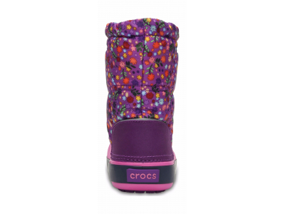 Crocs™ Crocband Lodgepoint Graphic Kid's Amethyst/Party Pink