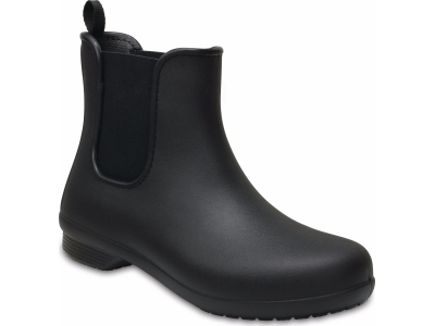 Crocs™ Freesail Chelsea Boot Black/Black