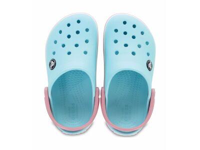 Crocs™ Kids' Crocband Clog Ice Blue/White