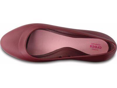 Crocs™ Lina Flat Garnet
