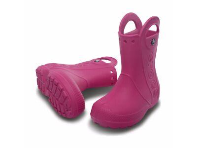 Crocs™ Kids' Handle It Rain Boot Fuchsia