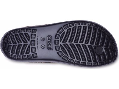 Crocs™ Sloane Hammered Metallic Flip Black/Rose Gold