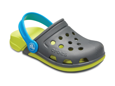 Crocs™ Electro III Clog Slate Grey/Tennis Ball Green