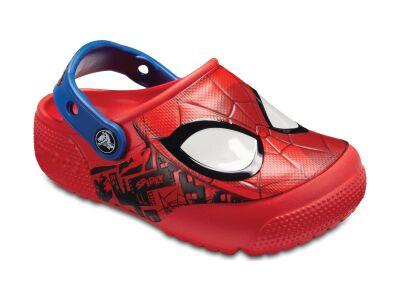 Crocs™ Funlab SpiderMan Lights Clog Flame
