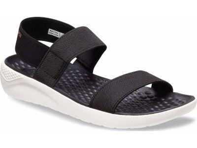 Crocs™ Women's LiteRide Sandal Black/White