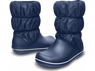 Crocs™ Winter Puff Boot Navy/Navy
