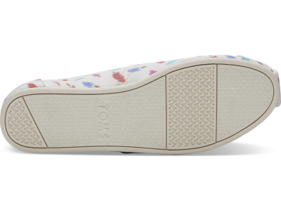 TOMS Popsicles Women's Alpargata White