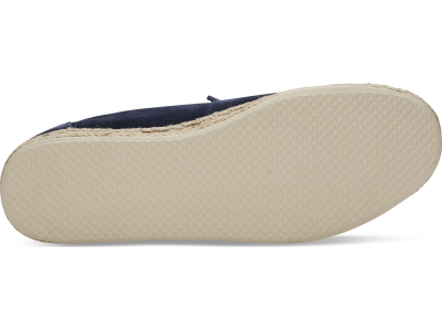 TOMS Suede Men's Deconstructed Alpargata Navy