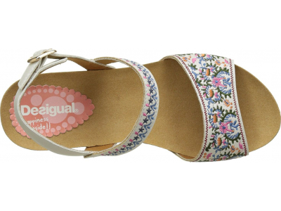 Desigual Bio7 White Flowers Crudo