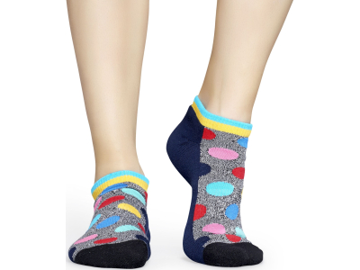 Happy Socks Athletic Big Dot Low Dark Blue/Multi