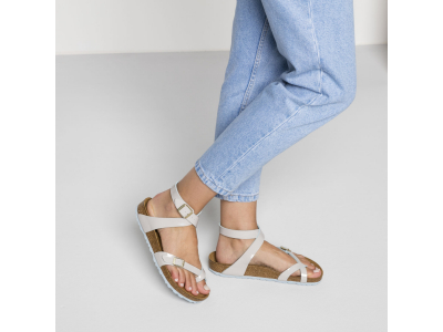 Birkenstock Yara Patent Two Tone Light Gray