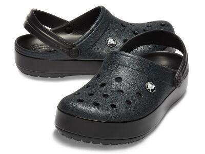 Crocs™ Crocband Glitter Clog Black