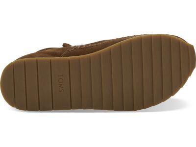TOMS Suede Water Resistant Women's Rio Sneaker Dark Amber