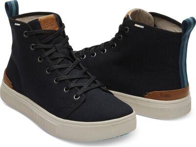 TOMS Canvas Men's Trvl Lite High Sneaker Black