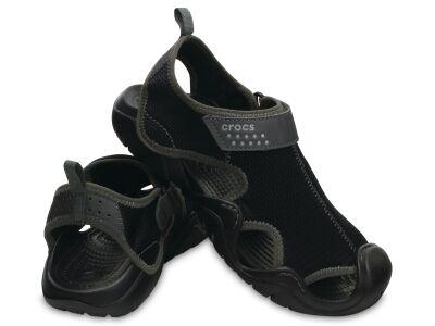 Crocs™ Swiftwater Outlet Sandals Black/Graphite