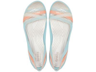 Crocs™ Isabella Huarache II Flat Ice Blue/Platinum