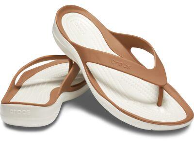 Crocs™ Women's Swiftwater Flip Bronze/Oyster