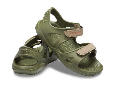 Crocs™ Kids' Swifwater River Sandal Army Green