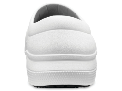 Crocs™ On The Clock Work Slip-On White