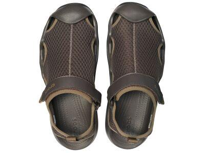 Crocs™ Swiftwater Mesh Deck Sandal Men's Espresso