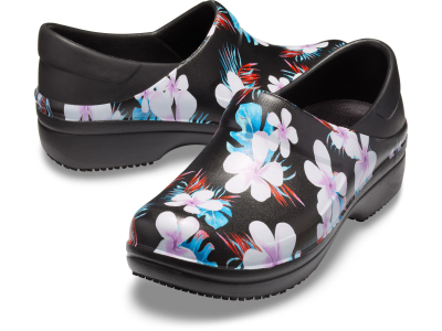 Crocs™ Neria Pro II Graphic Clog Women's Tropical Floral/Black