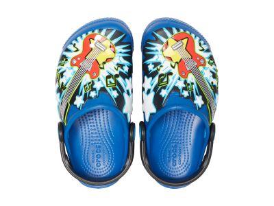 Crocs™ Funlab Guitar Lights Clog Kid's Blue Jean