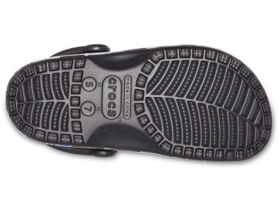 Crocs™ Classic Seasonal Graphic Clog Black/Floral