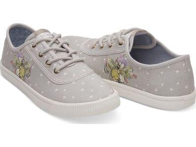 TOMS Seven Dwarfs Canvas Women's Carmel Sneaker Grey