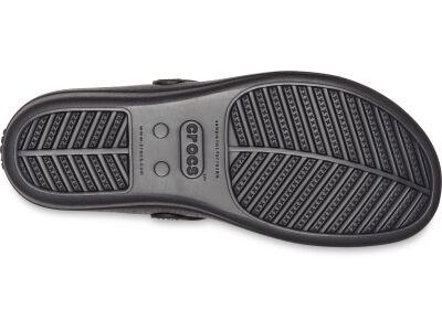 Crocs™ Sanrah Liquid Metallic Flip Women's Silver/Black