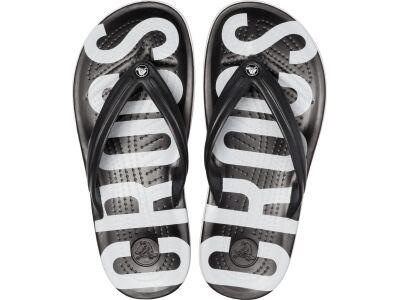 Crocs™ Crocband Printed Flip Black/White
