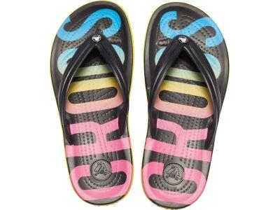 Crocs™ Crocband Printed Flip Black/Multi