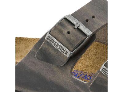 Birkenstock Arizona SFB Oiled Leather Iron