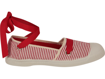 BENSIMON Tennis Espadrille Red