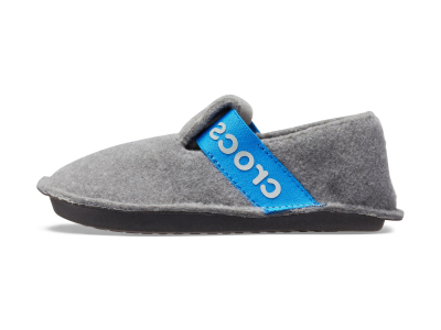 Crocs™ Kids' Classic Slipper Charcoal