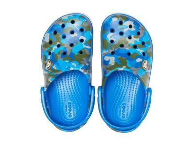 Crocs™ Crocband Camo Reflect Band Clog Kid's Bright Cobalt