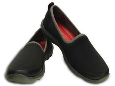Crocs™ Busy Day Stretch Skimmer Black/Graphite