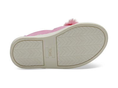 TOMS Abby Face Canvas Kid's Luca Slipon Pink