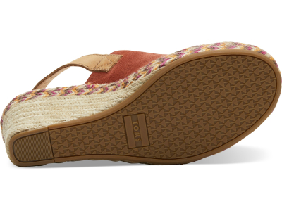 TOMS Suede Leather Women's Monica Spice