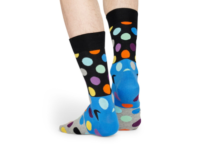 Happy Socks Big Dot Block Multi 9500